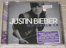 "Justin Bieber - My World 2.0 CD, Mar-2010, Def Jam (USA)  ""NEW"" *NOTE* cd Case h"
