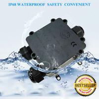 IP68 Verteilerbox Wasserdicht Kabelsteckverbinder Außen Anschlussdose Verbinder