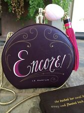 """KATE SPADE NEW YORK """"ON POINTE"""" ENCORE PERFUME BOTTLE LEATHER CLUTCH BAG, NWT"""