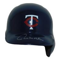 Paul Molitor Autographed Twins Mini Baseball Helmet (JSA)