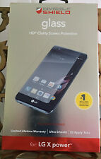 Zagg Invisible Shield Glass HD Full Screen Protector for LG X Power