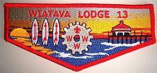 OA WIATAVA LODGE 13 ORANGE COUNTY COUNCIL SCOUT PATCH 3 SURF BOARDS COG FLAP