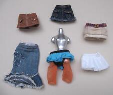 "Bratz FULL SIZE 10"" Doll XPRESS/STYLE IT Fashion clothes~Lot of 6 SKIRTS redress"