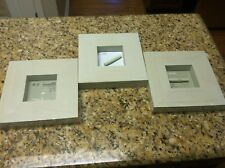 3 New Ikea Maffig Whitewashed Wood picture frame 5X5 in 12X12 cm 18299 photo lot