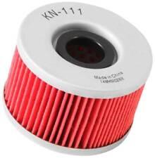 Oil Filter; Powersports Cartridge K&N KN-111 - For Honda ATV Applications
