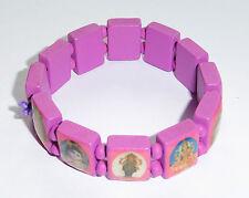 Multi Picture Hindu Gods & Goddesses Elasticated Bracelet Pink