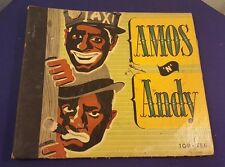 AMOS 'N' ANDY Record Album Cover Holder Book ONLY NO Records
