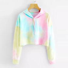 Womens Warm Hoodie Sweatshirt Ladies Hooded Sweater Coat Jumper Pullover Top Tee