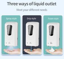 1200ml Wallmounted Automatic Large Public Hands Sanitizer Soap Alcohol Dispenser
