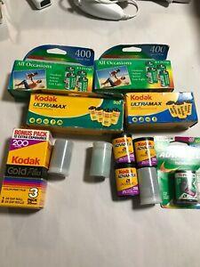 Lot of film  Kodak + Fuji expired 35mm