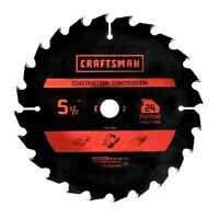 CRAFTSMAN Carbide Circular Saw Blade 5 1/2 Inch 24T Fast Cutting CHN 37651