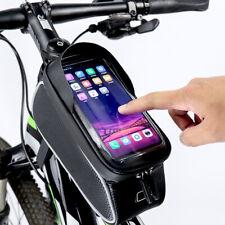 Borsa Borsetta TUBO anteriore impermeabile Porta Cellulare 6.9 Bici Ciclismo Bag