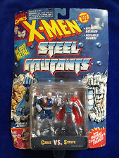 Juggernaut  VS. Cyclops - 1994 Toybiz Die Cast Metal X-Man Steel Mutants