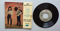 Ref779 Vinyle 45 Tours Bal Musette N 4 Claude Chevalier