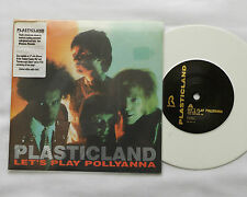 "PLASTICLAND Let's play Pollyanna GERMAN White vinyl 7"" REPULSION (1989) NM/MINT"