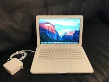 "Apple MacBook White 13"" A1342 320GB HDD/4GB Ram//OS X Sierra 2016/ Fast Shipping"