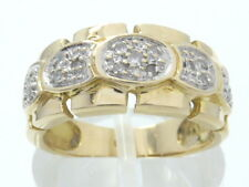 Ring Goldring 585 GOLD Brillanten Diamanten 14 Karat Brillant diamonds or oro