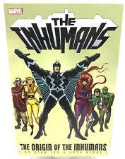 The Inhumans Origin of The Inhumans Stan Lee Jack Kirby Marvel Comics Tpb New