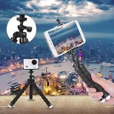 Flexible Octopus Tripod with Phone Clip Tablet Stand for Gopro Xiaomi Yi 4K