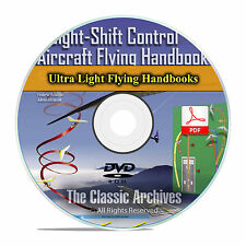 Ultralight Trike Aircraft Flying Handbook, Hobby Airplanes Weight Control CD F46