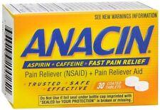 Anacin Tablets 30 Tablets