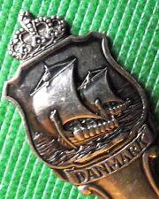 C1930 artes manualidades Viking longship Caddy Cuchara