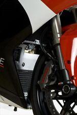Ducati 1198 R&G Racing Radiator Guard Set RAD0123RE Red