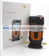 Testo 552 Digital Vacuum Gauge 0560 5522 Vacuum measuring instrument 0-26.66mbar