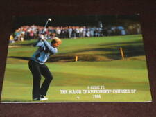 Golf - Major Championship Courses Of 1988 16pp