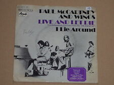 """Paul McCartney And Wings-Live and Let I - 7"""" 45"""