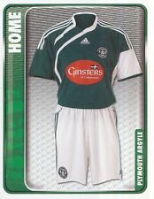 230 HOME KIT ENGLAND PLYMOUTH ARGYLE STICKER FL CHAMPIONSHIP 2010 PANINI