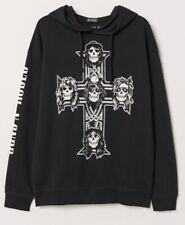 GUNS N' ROSES Printed Hooded Sweatshirt, LICENSED, BRAND NEW. SEALED. LARGE Size
