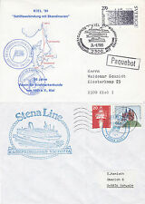 DANISH FERRY SHIP MF KRONPRINSESSAN VICTORIA 2 SHIPS CACHED COVERS