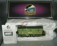 MTH TINPLATE 10-1066-1 CONTEMPORARY VERSION 9E 2-TONE GREEN LOCOMOTIVE WITH OB