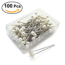 Wholesale 100PCS Pearlized Ball Head Pin Jewelry Findings DIY 35mm