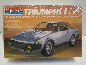 VINTAGE 1980 MONOGRAM 1/24 SCALE TRIUMPH TR8 MODEL KIT ***FACTORY SEALED***