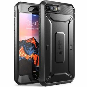 iPhone 7 8 Plus SUPCASE UBPRO Full body 360 Cover Screen Protector Holster Clip