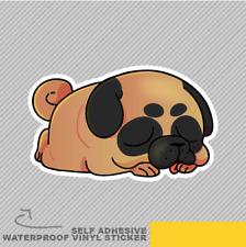 Pug Cartoon Collection Animal Cute Vinyl Sticker Decal Window Car Van Bike 2358