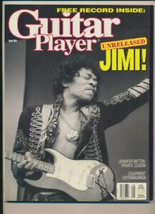 ORIGINAL GUITAR PLAYER MAGAZINE MAY 1989 JIMI HENDRIX COVER 'RED HOUSE' RECORD