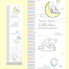 New Baby / Baby Shower Gift - Height Chart - Measures From 50cm to 130cm
