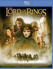 Lord of the Rings: Fellowship Of Ring Blu-ray 2-Disc Set NEW! Free USA Shipping!