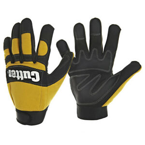1 Pair Cutter Chainsaw Gloves Amara Leather Reinforced 14Layer Cut Resist(CW600)