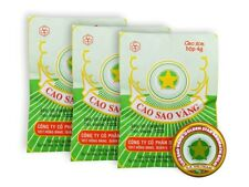3 x 4 g Vietnamesische Balsam Golden Star Balm Erkältung Kopfschmerzen Звёздочка