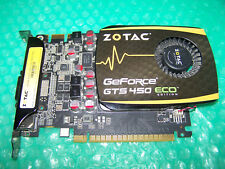 Zotac GeForce GTS 450 ECO Edition 1GB PCI-e Graphics Card