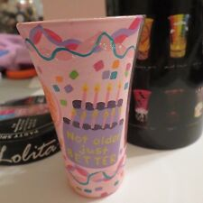 LOLITA ~ PARTY SHOTS ~ IT'S MY BIRTHDAY ~ 2 oz. Hand-Painted Glass with Recipe