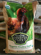 Organic Poultry Feed - Chicken feed, Chicken Coup Food 50LBS Brand New Large Lot