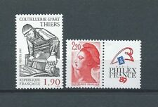 FRANCE - 1987 YT 2461 et 2467 - TIMBRES NEUFS** LUXE