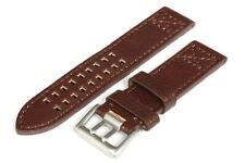 22mm Best quality and best price genuine leather watch strap - 143646