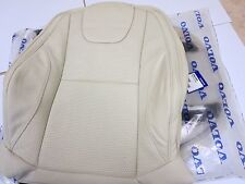 NEW, VOLVO OEM 2013 2014 2015  XC60 Marble White  leather factory seat cover