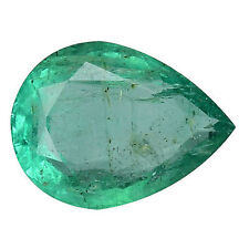 Pear Slight Loose Emeralds